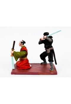 Samurai and ninja.(on a single stand).