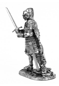 Knight, 1440. (With the visor closed.)