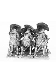The Roman Wars. A group with swords.
