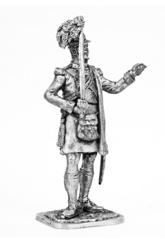 """Officer of the 42nd Royal Scots Regiment """"Black Watch"""" 1806-15 Great Britain."""