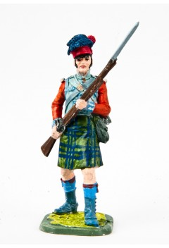 Private Company Center of the 42nd Royal Scots Regiment 1806-15 United Kingdom.