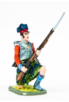 Private (from the knee) of the center company of the 42nd Royal Scottish Regiment 1806-15 year Great Britain.