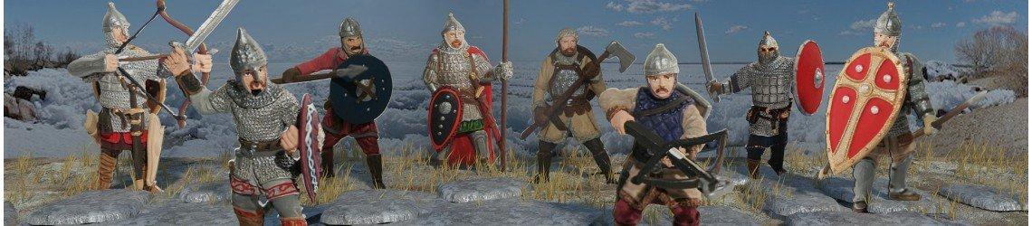 Russian warriors