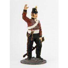 Lieutenant of the 4th squadron of light dragoons (England). 1855 year.