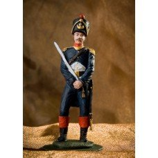 Officer of the grenadier company of the 48th line infantry regiment, 1812