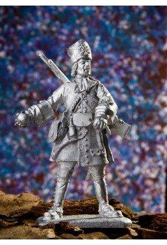 Grenadier of the Butyrka soldier regiment, 1708-1712
