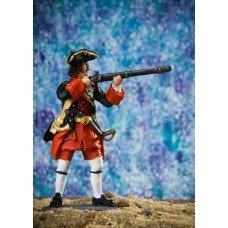 Pikeman of the Smolensk Infantry Regiment, 1715