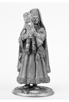 Scythian queen with a child