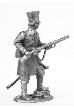 Warrior of the cavalry regiment of the Penza militia, 1812