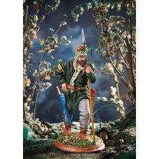 Scythian with a spear