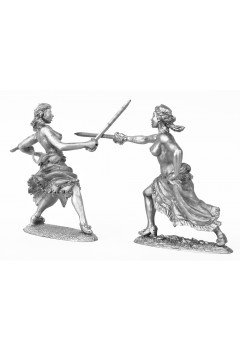 Madame in a duel. 2.