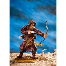 Mongolian archer.