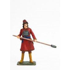 Artilleryman of the new instrument regiments in 1700. (2)