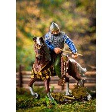 Scythian warrior on horseback.