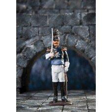 Staff officer of the Württemberg Life Guards Horse-Jaeger Regiment 1808.