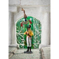 Musician-bunchuk-bearer of the 7th African regiment of the Neapolitan line of infantry in 1811.