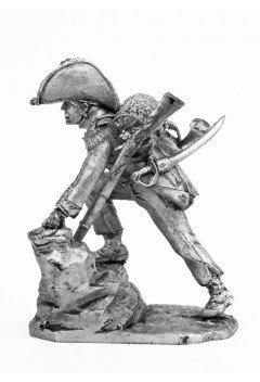 Bugler of the 8th light semi-brigade. France