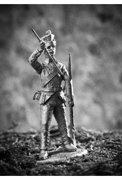 Grenadier of battalions of the Black Sea Grenadier Corps, 1795-1797