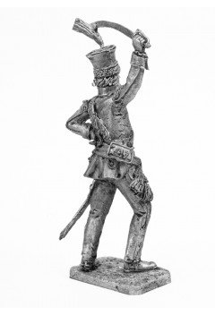 Officer of the Polish-Lithuanian cavalry regiment in 1792.