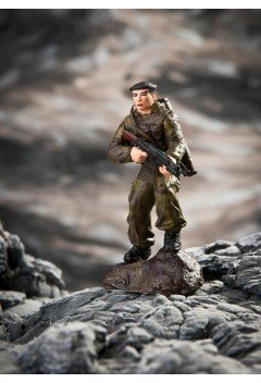 Special Forces soldier, Chechnya.