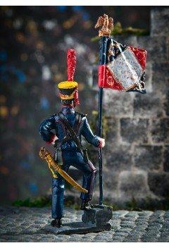 Standard-bearer of Napoleon's Guards sailors 1812
