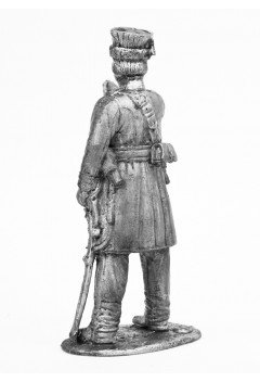The sergeant of the Kalmyk regiments in 1812-1814