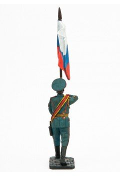 """Standard bearer. Flag of Russia. """"Victory parade"""""""