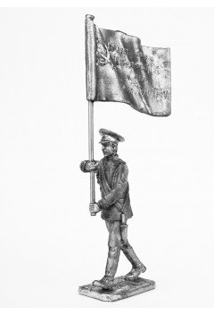 """Standard bearer. Victory Banner. """"Victory parade"""""""