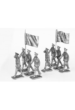 """Standard Bearer's Assistant. """"Banner group """". """"Victory parade""""."""