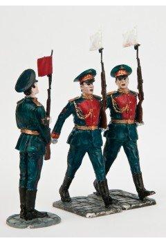 "Preobrazhenets in the ranks. ""Victory parade""."