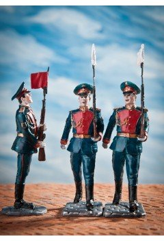 "Preobrazhenets in the ranks (2). ""Victory parade""."