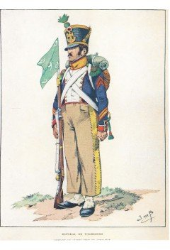 Voltigeur corporal of the French infantry 1812-15