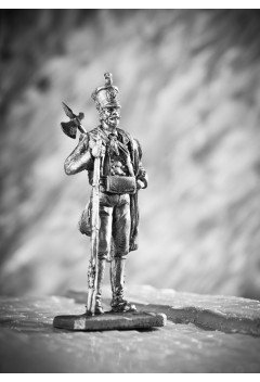 Spanish rifleman of the Almogavar battalion, 1810.