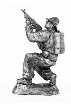 Airborne soldier, USSR. Afghanistan, 1989
