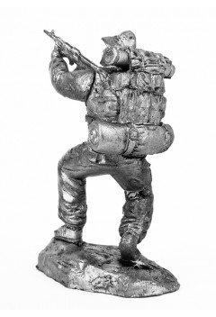 Airborne soldier 2, USSR. Afghanistan, 1989