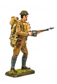American Expeditionary Force soldier with Browning automatic rifle