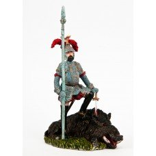 Archduke Ferdinand II of Tyrolean hunting.