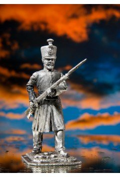 Warrior of the Battalions of the Shooters of the Zemsky Army, 1807.